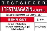NUK 10256267 – Babyphone Eco Control+ DECT 267 mit Full Eco Mode - 5